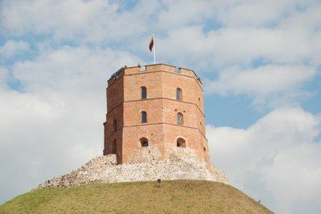 Torre de Gediminas, al castell Superior