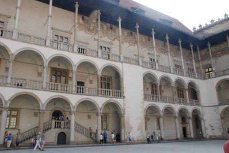 Pati d'armes del Castell de Wawel
